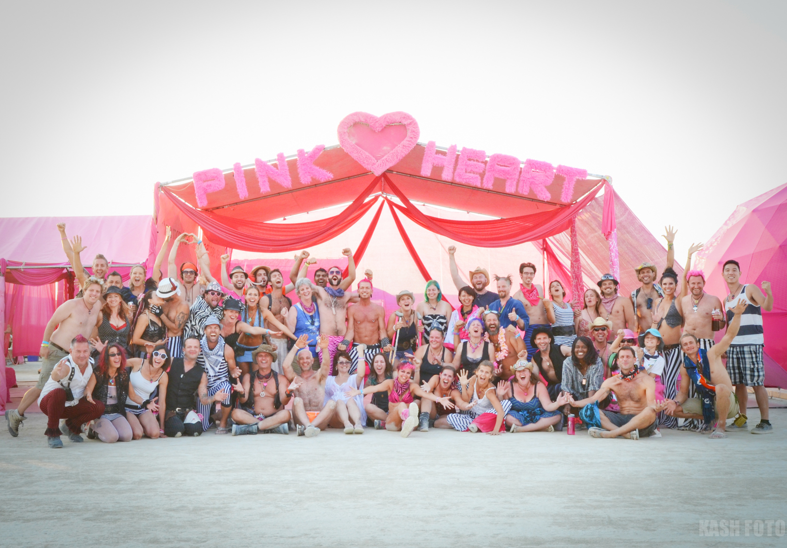 Camp Pink Heart