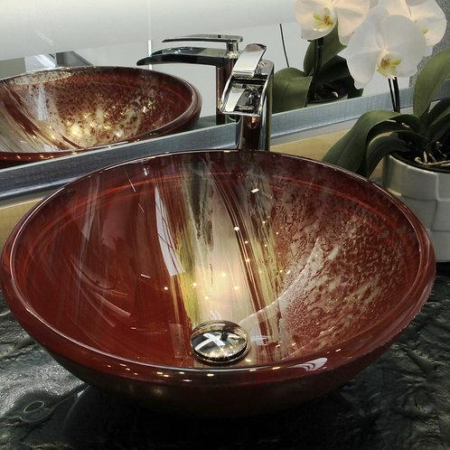 Linear Swipe Red Sink