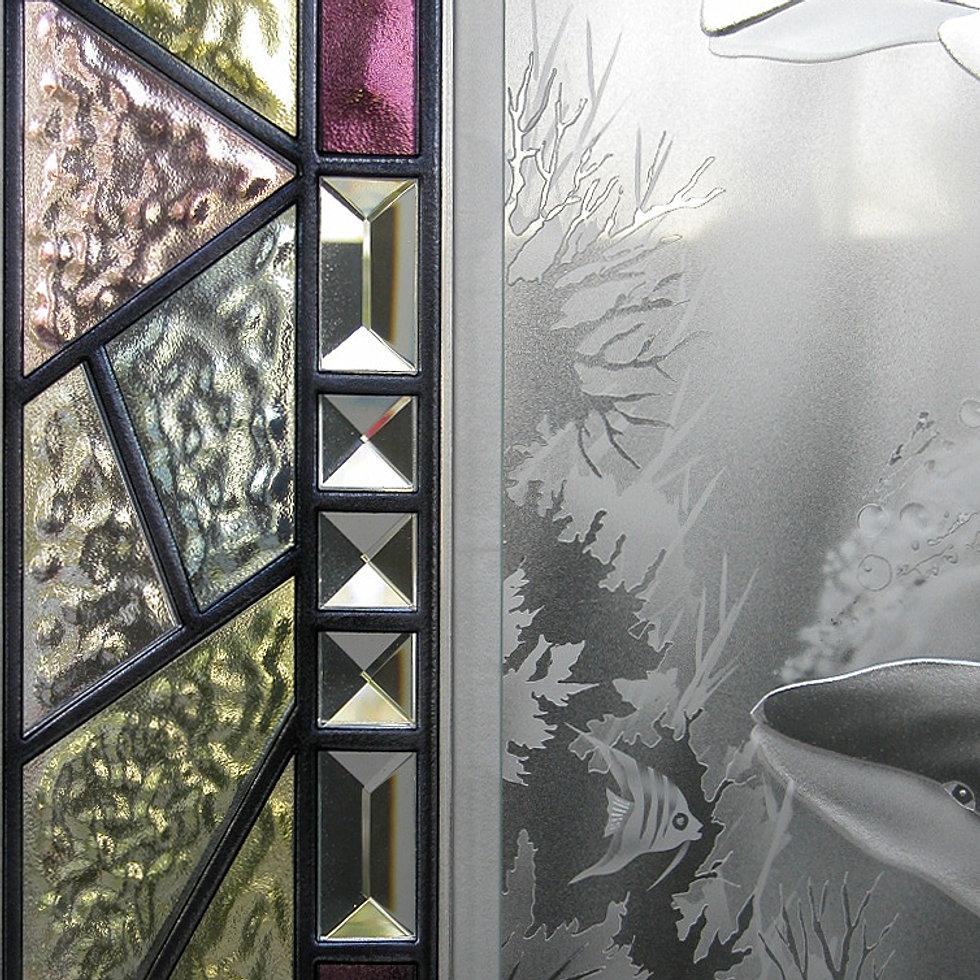 Studio G3 Glass Crushed Diamonds And Rubies Series Vancouver