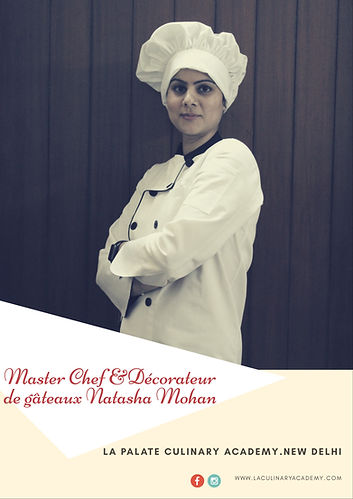 Join Master Chef & Cake Decorator Natasha Mohan Baking , Cooking & Sugar Craft Classes in Delhi