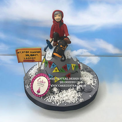 Mountaineer Cake in Delhi for Men