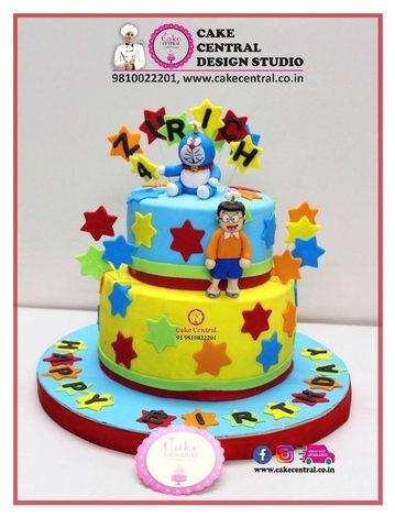 Doraemon Cake Delhi Online with Delivery