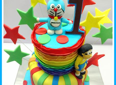 How we made the Best Doraemon cake !