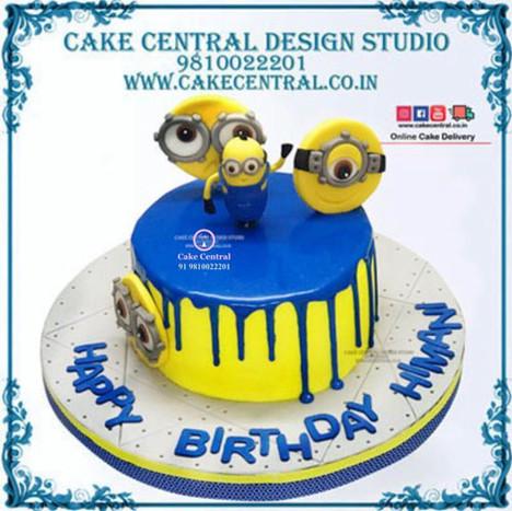 Minion Cake in Delhi Online
