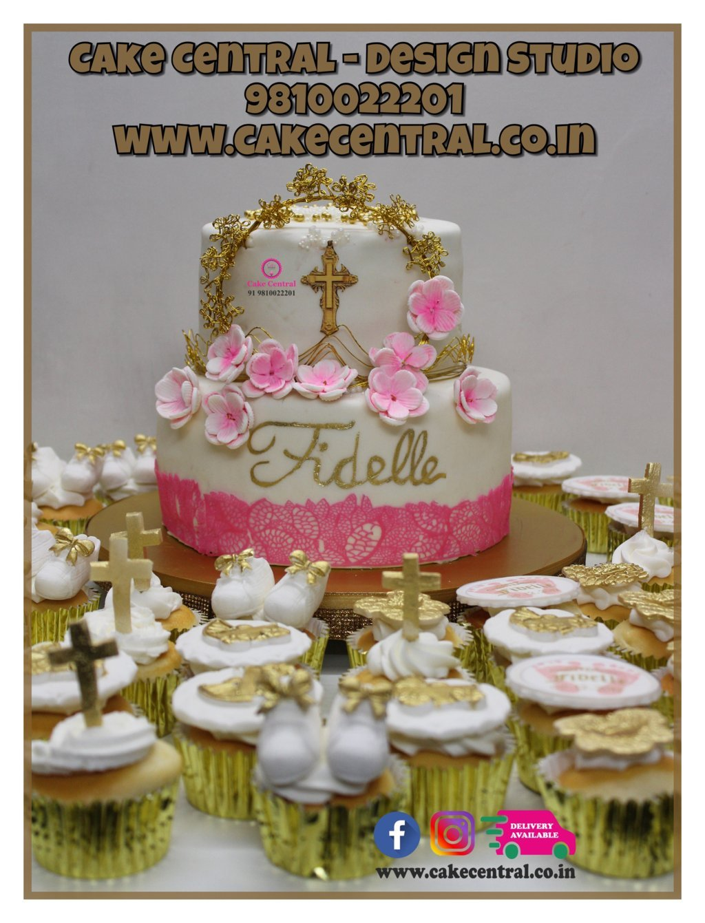 Holy Communion Cakes in Delhi Online