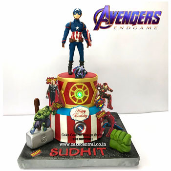 Best Avenger Cakes in Delhi Online