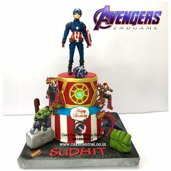 Avengers Cake in Delhi