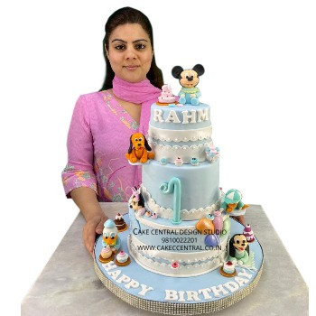 Mickey Mouse Clubhouse  Birthday Cake Online in Delhi