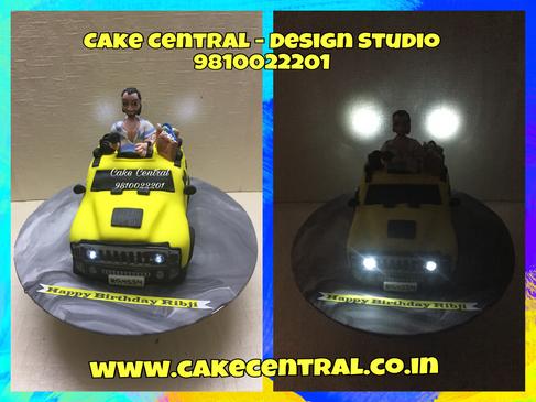 Car Shaped Cakes Delhi | Best Car Cakes Delhi | Order Online Designer Cakes with Delivery to Delhi , Noida , Gurgaon
