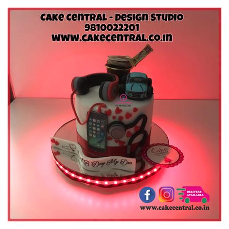 Music DJ Lovers Cake Delhi