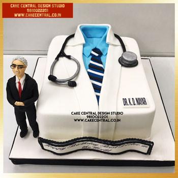 Doctor Cake in Delhi Online - Cake Central Design Studio