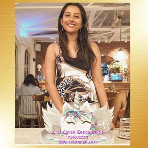 Flying Unicorn Cake in Delhi Online