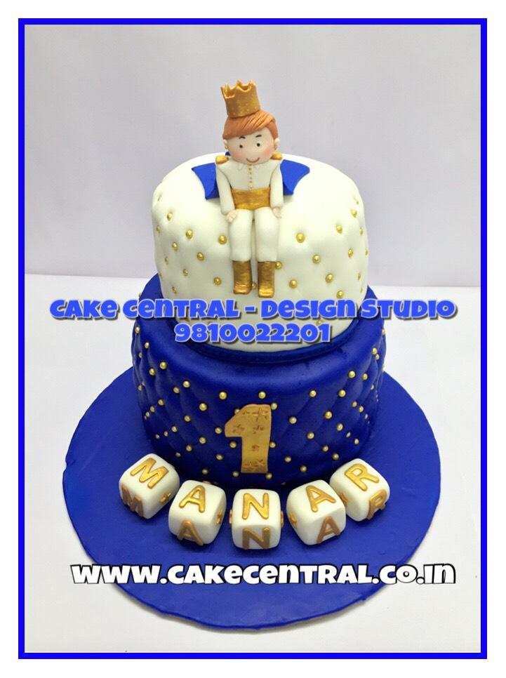 Royal Prince Cake Delhi 1st Birthday