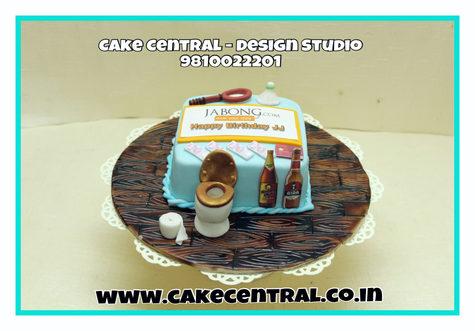 Toilet & Poop  Theme Birthday Cake Delhi