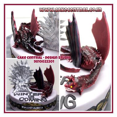 Dragon_Cake_Game_Of_Thrones_Delhi_Online