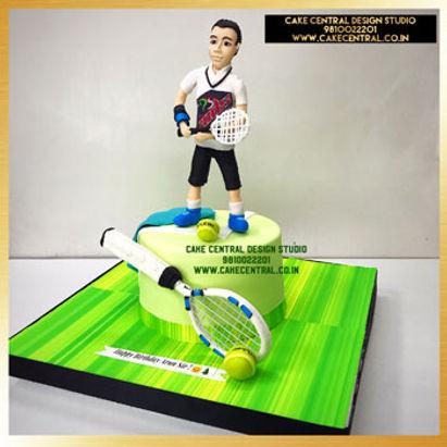 Tennis Theme Cake for Dad in Delhi Online