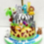 Jungle / Kids theme Designer Cake of Cake Central Design Studio. Kids 3D Cakes in Delhi