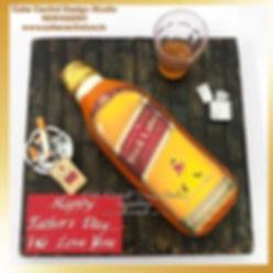 red_back_label_whiskey_scotch_cake_delhi