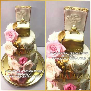 Engagement Cake in Delhi Online
