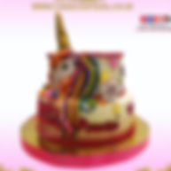 3D Unicorn Cakes in Delhi online with delivey