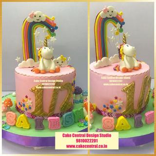 Half Unicorn Cakes Online in Delhi