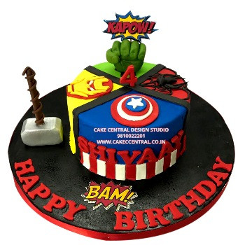 Avengers Cakes in Delhi Online