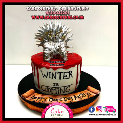 Iron Throne_Blood_Red_Game_of_Thrones Cakes