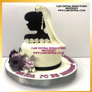 Christian Bride to Be Cake Delhi Online