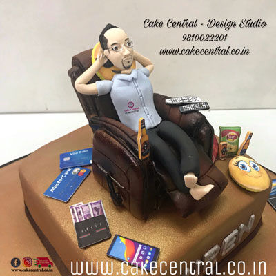 Lazy Boy -Recliner Cake in Delhi