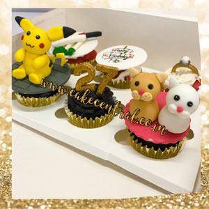 Cartoon themed Cupcakes in Delhi