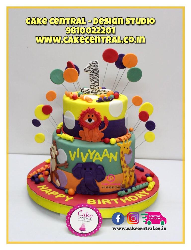 Animal Cake Delhi |Circus Cake Delhi