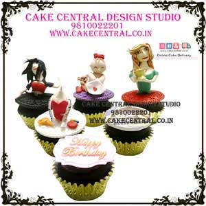 Cupcakes for Birthday Girl in Delhi
