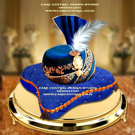 Pagri Pillow Cakes Online in Delhi