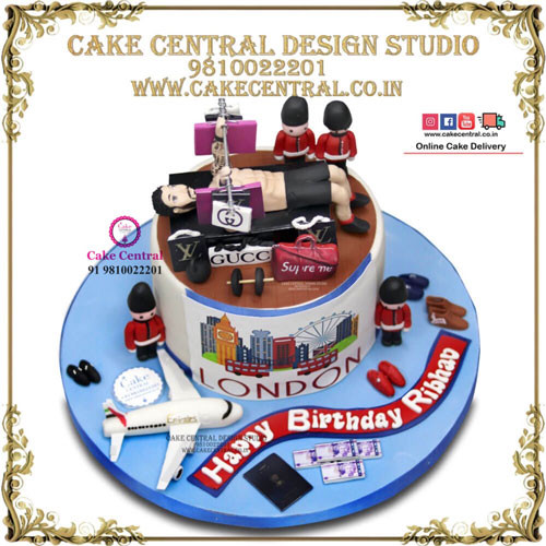 Gym Lovers Cake in Delhi Online