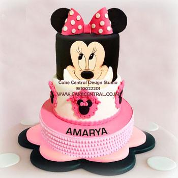 Minnie Mouse Cake Designs Delhi