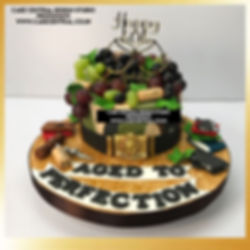 Aged to Perfection theme Cake in Delhi Online