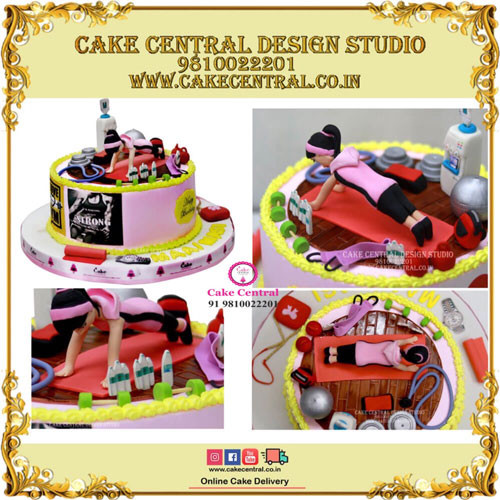 Fitness & Gym Cakes in Delhi