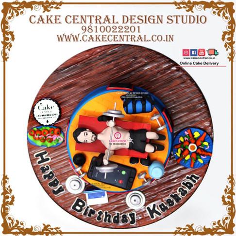 Gym Theme Cakes in Delhi Online