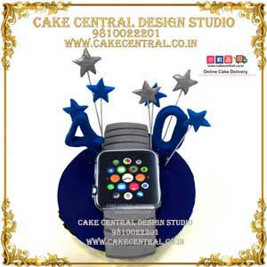 Apple iwatch cupcakes