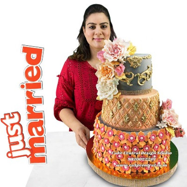 Order Best Wedding Cakes in Delhi