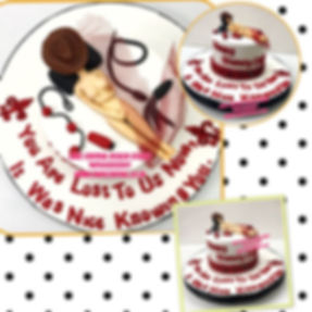 Cute Cowgirl Bacherlor party Cakes in Delhi Online