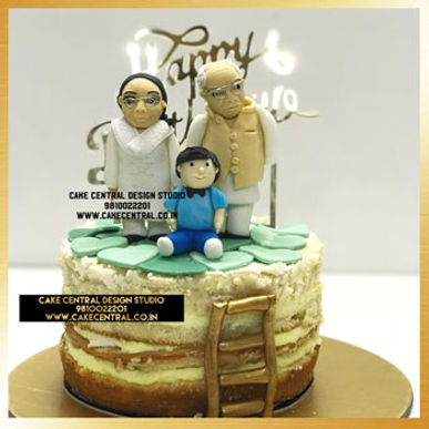 Kids & Gandmom Cake in Delhi Online