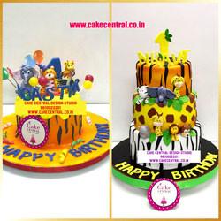 Jungle Cake Delhi | Tiger Cake Delhi Online