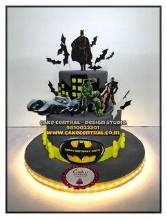 Batman Cake Online in Delhi for  Kids Birthday