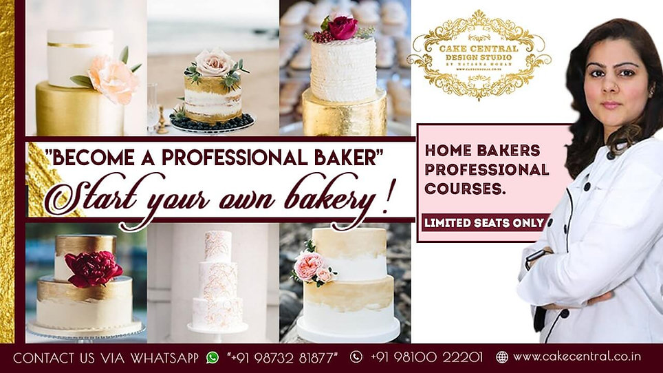 Professional Cake Decoration Classes Del