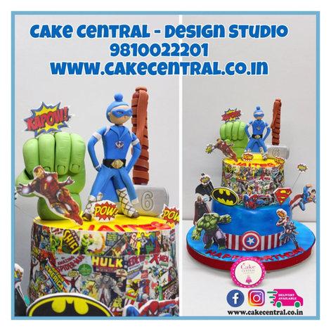 Superhero Cake in Delhi
