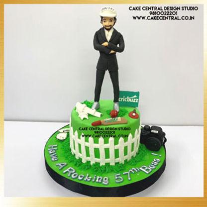 Cricket Theme Cakes in Delhi Online