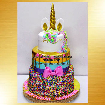 Unicorn Theme Cakes Delhi