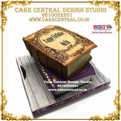 4D Book Theme Cakes in Delhi Online
