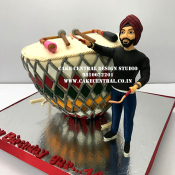 Music Theme Cake in Delhi Online
